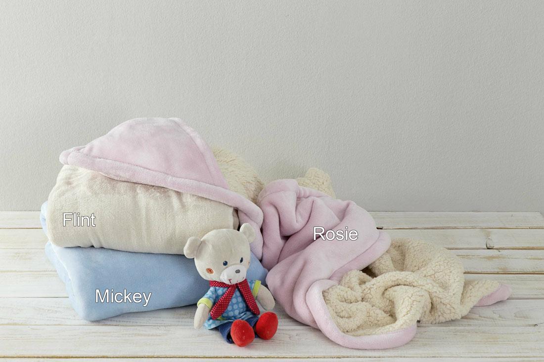 Κουβέρτα Βελουτέ Αγκαλιάς Με Κουκούλα 100×100 Nima – Flint