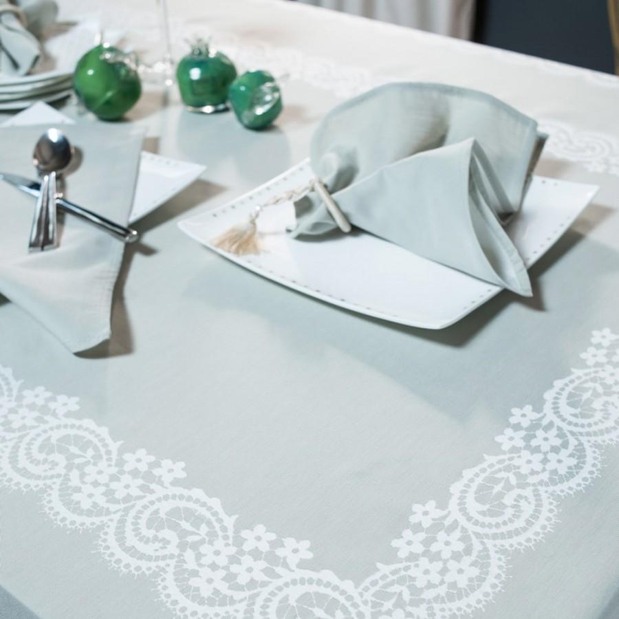 Πετσέτες Φαγητού (Σετ 4 Τμχ) 43X43 Teoran Dantelle 13