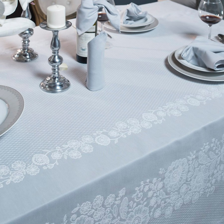 Πετσέτες Φαγητού (Σετ 4 Τμχ) 43X43 Teoran Lace 3
