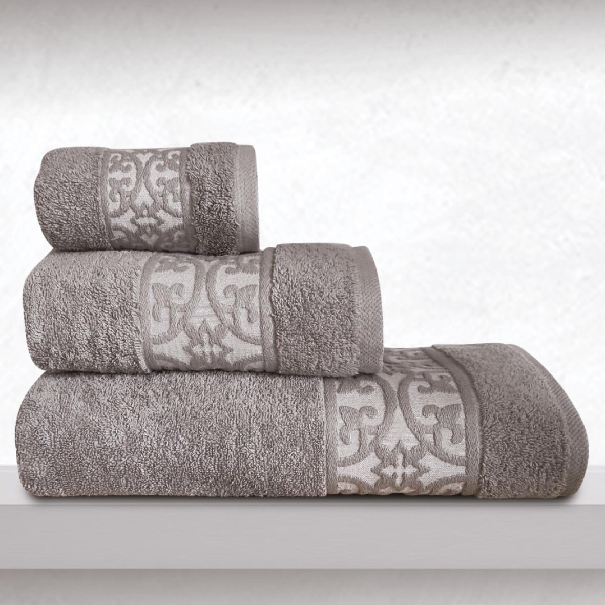 Πετσέτα Χεριών 30X50 Sb Home Zenith Grey