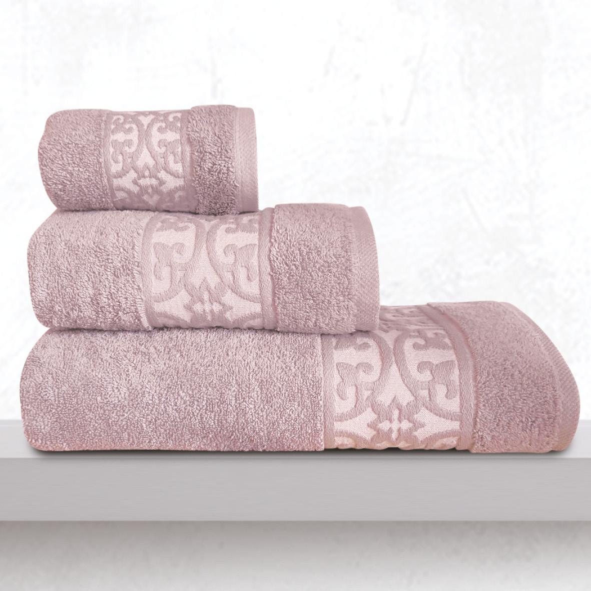 Πετσέτες Μπάνιου (Σετ 3 Τμχ) Sb Home Zenith Lilac