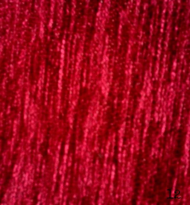 Ελληνικό σετ ριχτάρια 100% ακρυλικό σενίλ μονόχρωμα σε 6 χρώματα