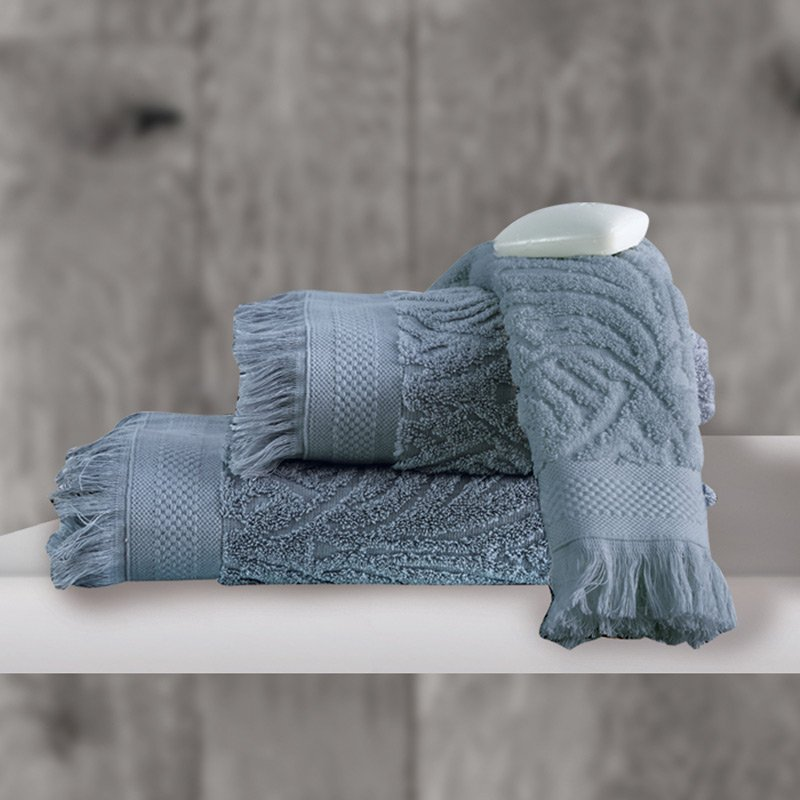 Πετσέτα Χεριών 30×50 Sb Home Celine Grey Ανθρακι