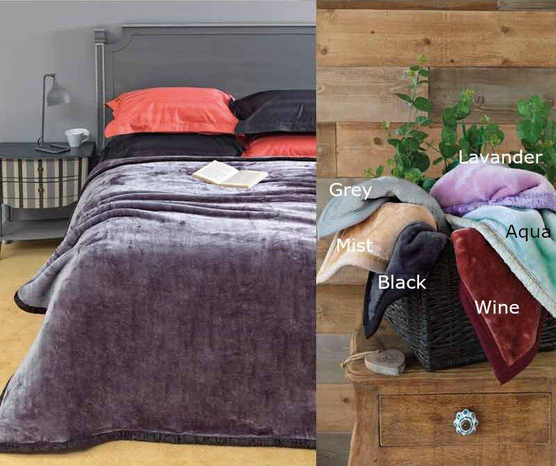 Κουβέρτα Βελουτέ Μονή 160x220 Chic Velvet Palamaiki Chic Velvet Mist λευκά είδη κουβέρτες κουβέρτες μονές