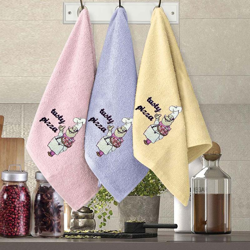 Πετσέτες Κουζίνας (Σετ 3 Τμχ) 30×50 Sb Home Coffe Time No10