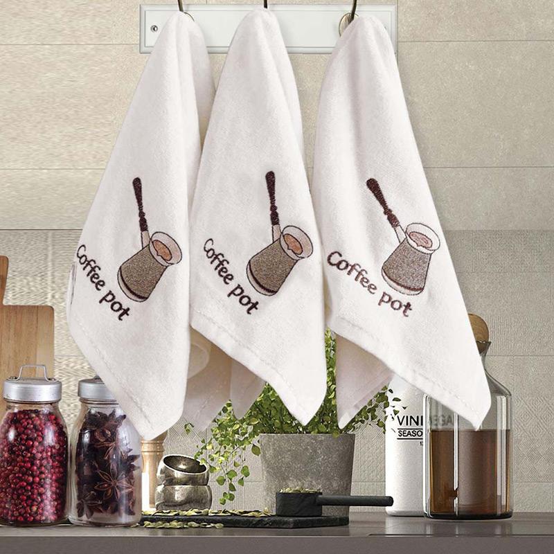 Πετσέτες Κουζίνας (Σετ 3 Τμχ) 30x50 Sb Home Coffe Time No14 (30x50)