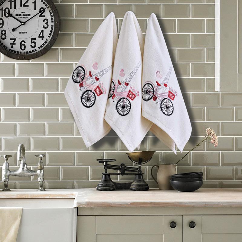 Πετσέτες Κουζίνας (Σετ 3 Τμχ) 30×50 Sb Home Coffe Time No7