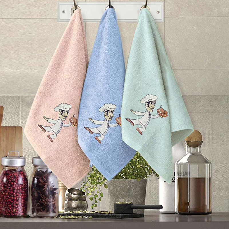 Πετσέτες Κουζίνας (Σετ 3 Τμχ) 30×50 Sb Home Coffe Time No9