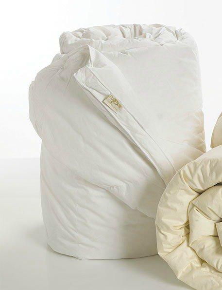 Πάπλωμα (Σετ 1+1) Υπέρδιπλο 220×240 Aloe vera Palamaiki White Comfort White