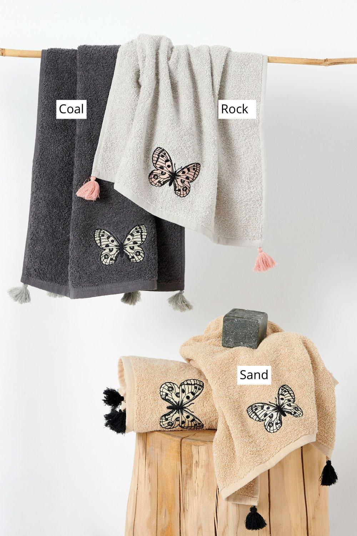 Πετσέτες Μπάνιου (Σετ 2 Τμχ) Palamaiki Towels Collection Cubo Sand
