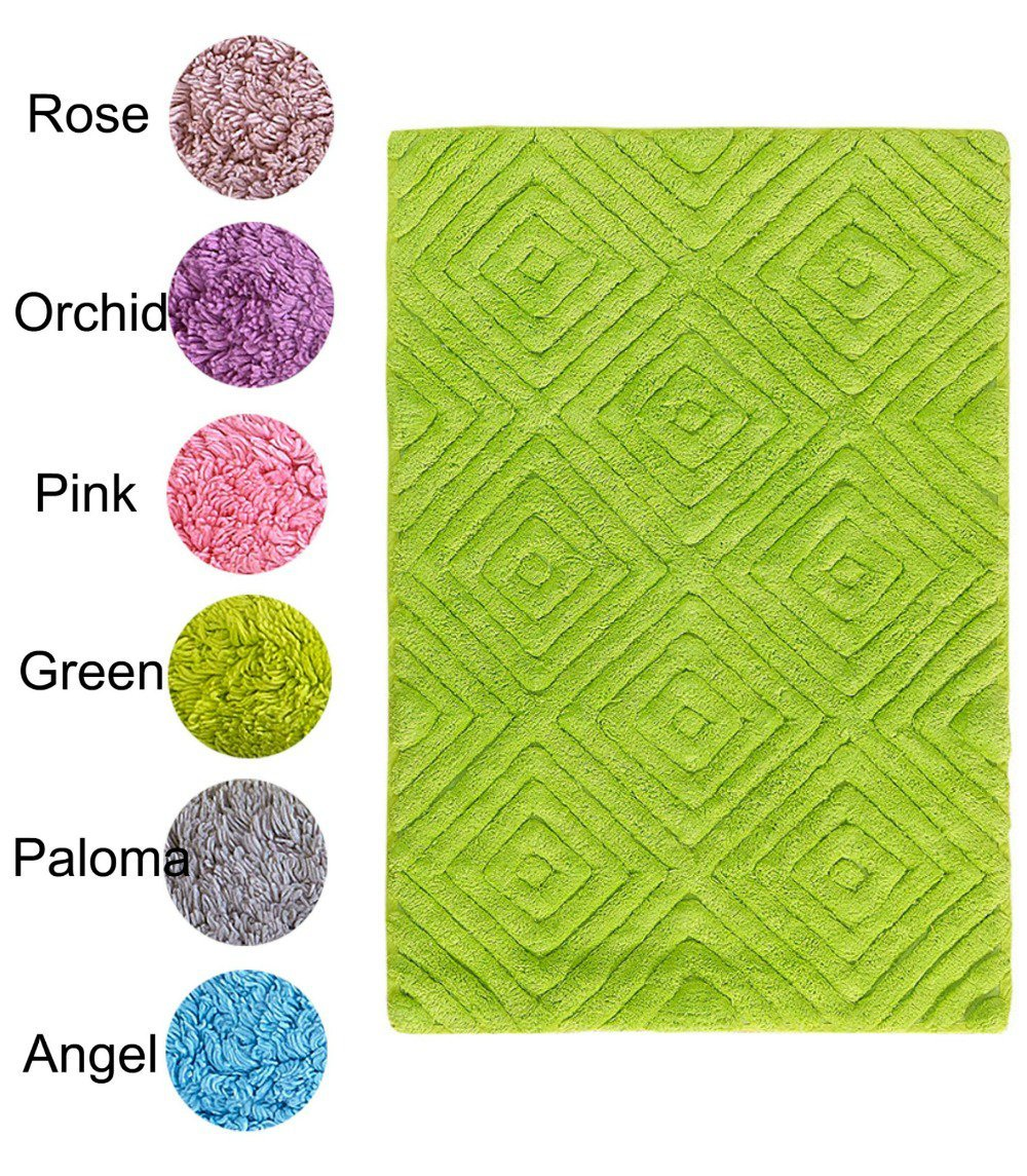Πατάκι Μπάνιου 50×80 Diamond Palamaiki Bathmat Collection Pink