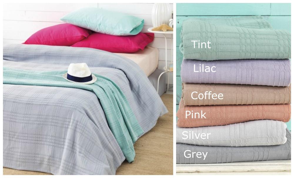 Κουβερτόριο Υπέρδιπλο 240×250 Eco Blanket Palamaiki Eco Blanket Coffee