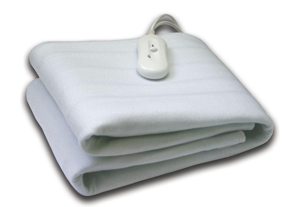 Ηλεκτρική Κουβέτα Μονή 80x150 Dormibene Palamaiki White Comfort White λευκά είδη υπνοδωμάτιο ηλεκτρικές κουβέρτες ηλεκτρικές κουβέρτες μονές