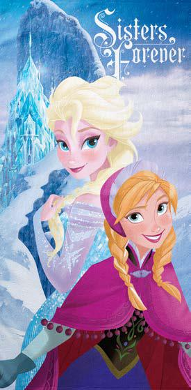Πετσέτα Θαλάσσης 75×150 FROZEN SISTER Palamaiki Disney Collection