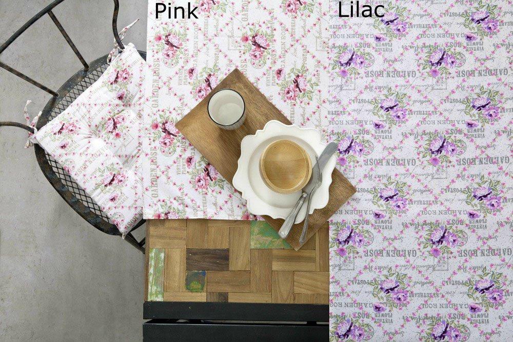 Τραπεζομάντηλο 150×220 – Nima Garden Rose Pink