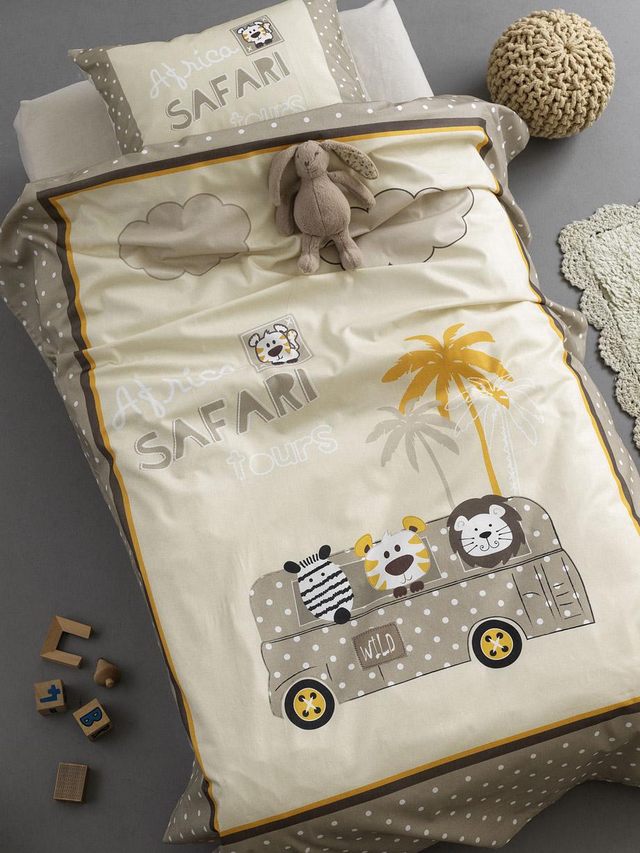 Σεντόνια Κούνιας (Σετ) 100×150 Palamaiki Happy Baby Hb0557 Χωρίς Λάστιχο