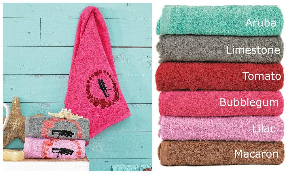 Πετσέτες (Σετ 3 Τμχ) IN LOVE Palamaiki Premium Towels LIMESTONE
