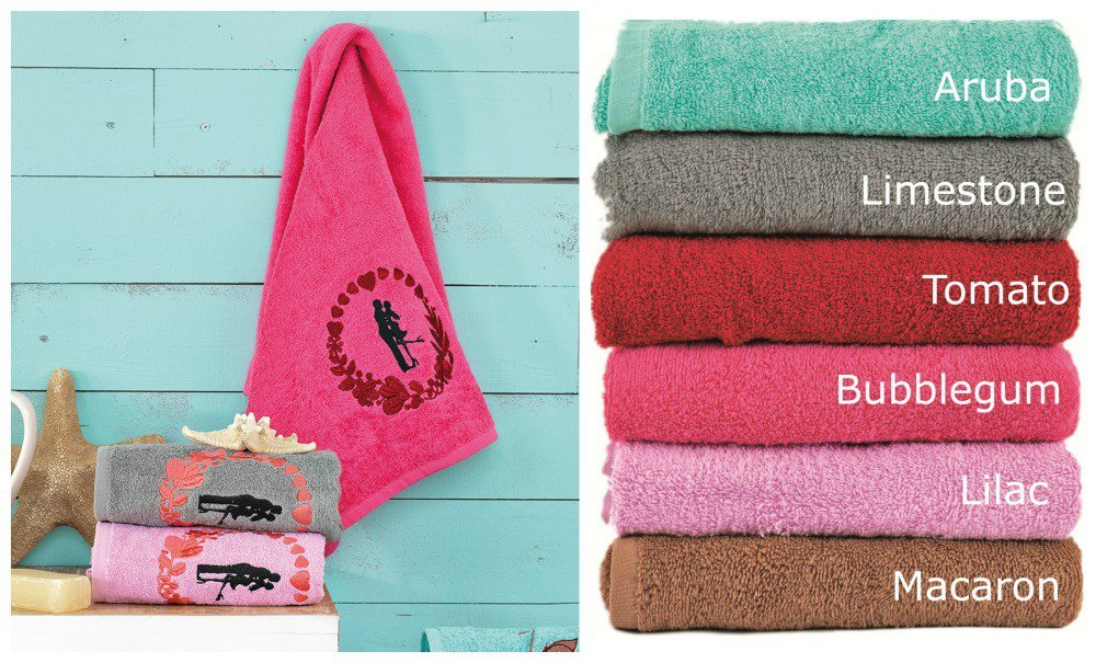 Πετσέτες (Σετ 3 Τμχ) IN LOVE Palamaiki Premium Towels MACAROON