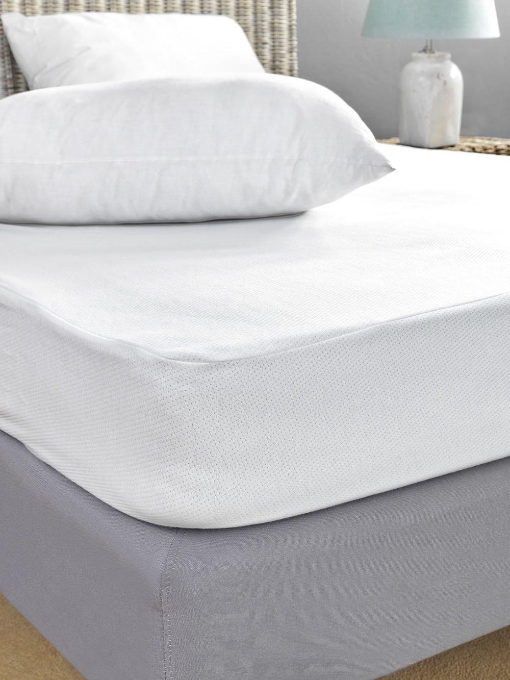 Αδιάβροχο Κάλυμμα Στρώματος Μονό 100×200 Jaquard Waterproof Palamaiki White Comfort