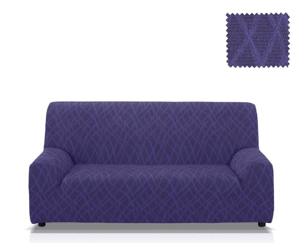 Ελαστικά καλύμματα καναπέ Karen-Τετραθέσιος-Μπλε-10+ Χρώματα Διαθέσιμα-Καλύμματα Σαλονιού