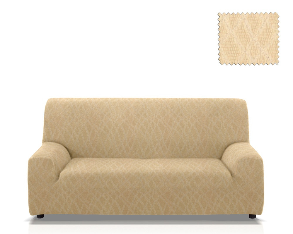 Ελαστικά καλύμματα καναπέ Karen-Τετραθέσιος-Ιβουάρ-10+ Χρώματα Διαθέσιμα-Καλύμμα καλύμματα επίπλων καλύμματα καναπέ σαλονιού   πολυθρόνας