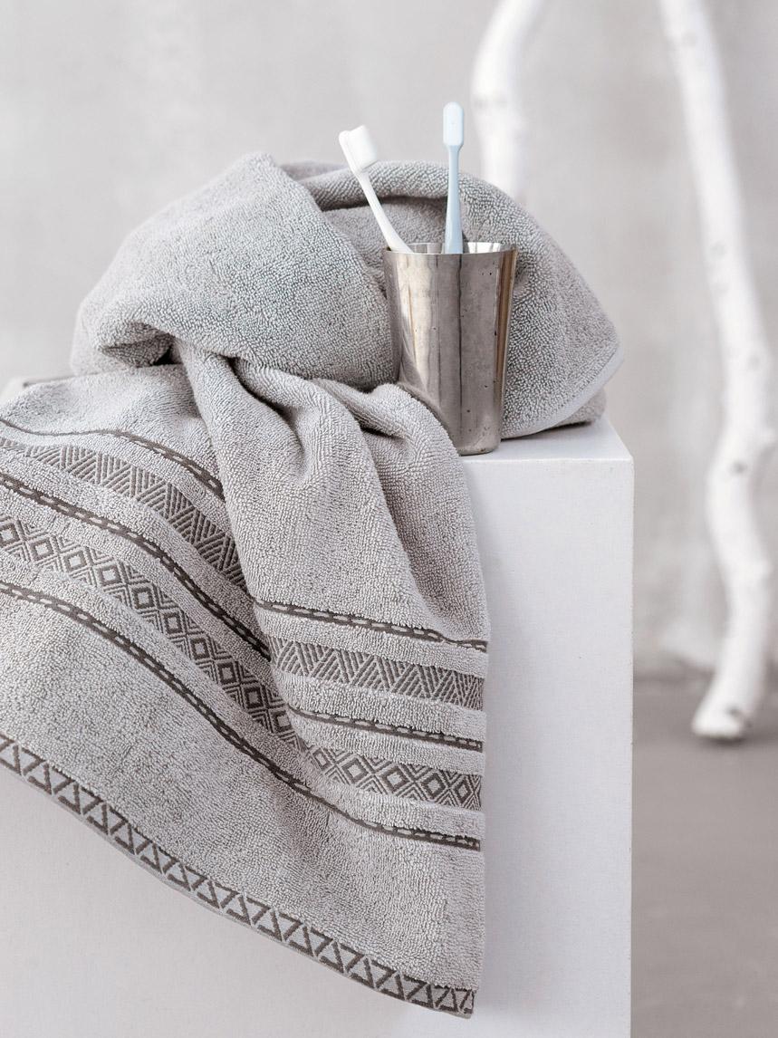 Πετσέτες Μπάνιου (Σετ 3 Τμχ) Palamaiki Towels Collection Logna