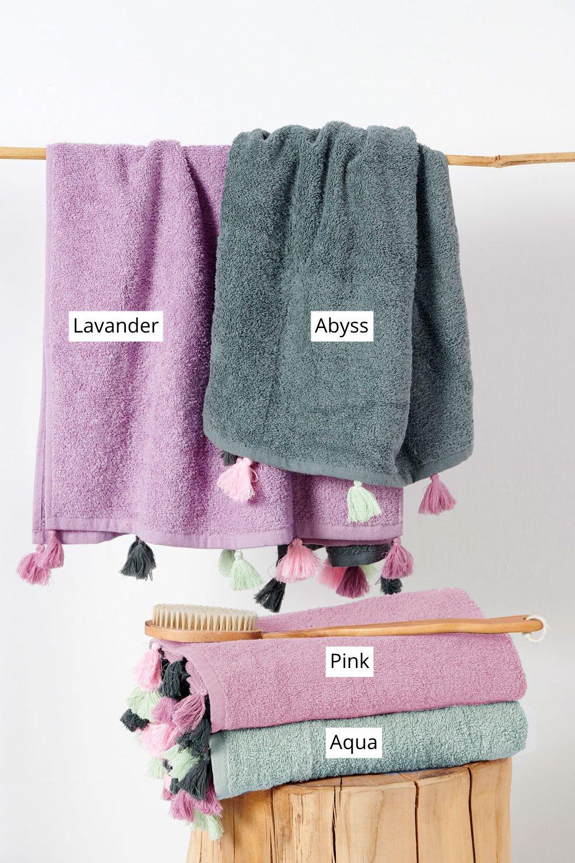 Πετσέτες Μπάνιου (Σετ 2 Τμχ) Palamaiki Towels Collection Margot Aqua