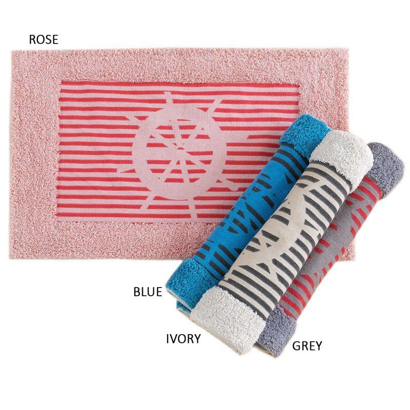 Πατάκι Μπάνιου 50×80 Navy Palamaiki Bathmat Collection Rose