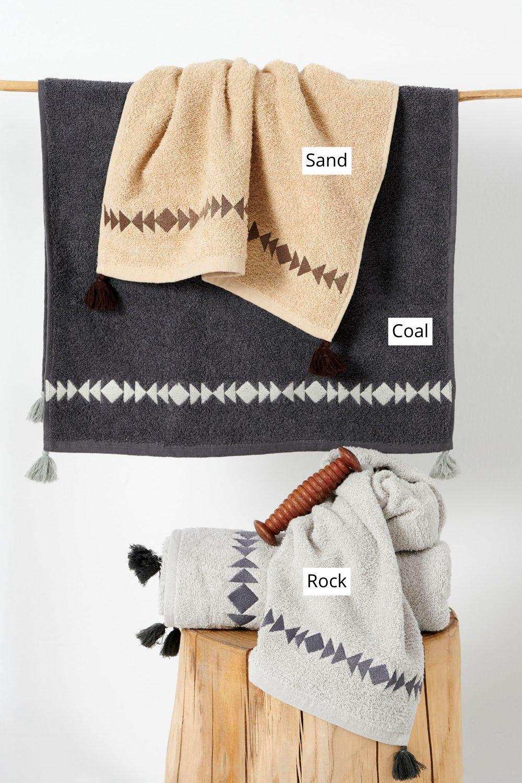 Πετσέτες Μπάνιου (Σετ 2 Τμχ) Palamaiki Towels Collection Pancho Sand