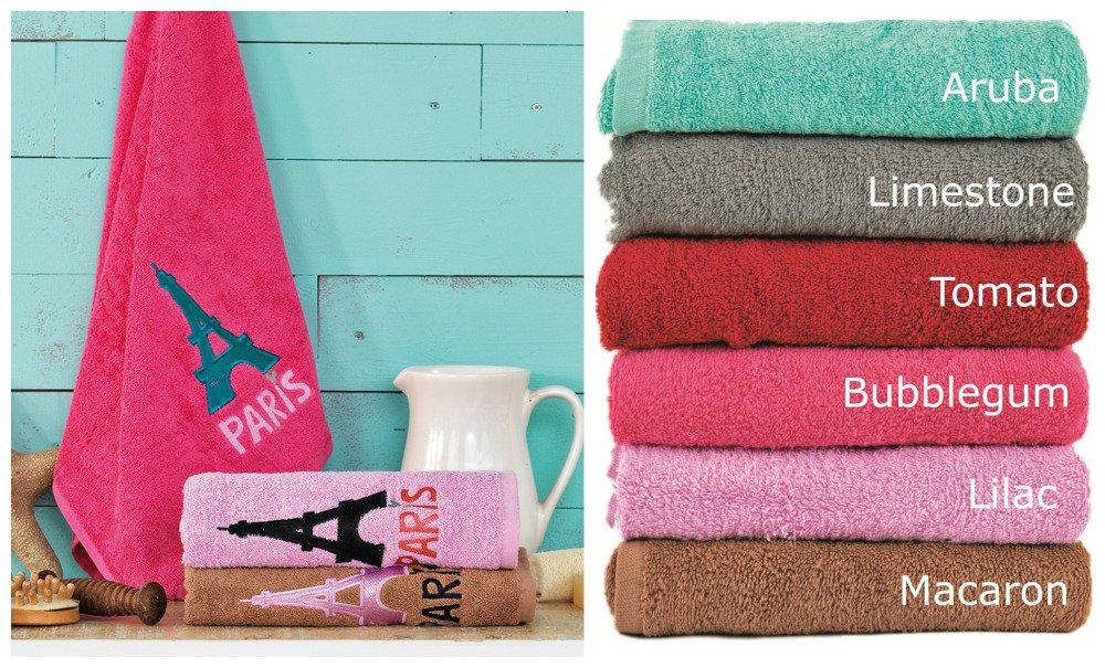 Πετσέτες (Σετ 3 Τμχ) PARIS Palamaiki Premium Towels TOMATO