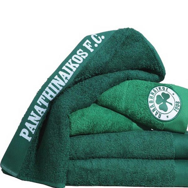 Πετσέτα Σώματος (70×140) Palamaiki Official Team Licenced Panathinaikos Green-Παο-Παναθηναικός
