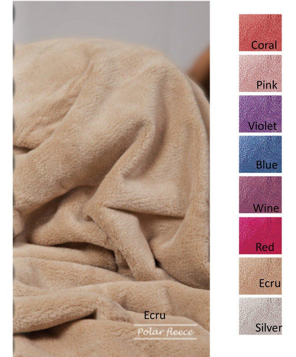 Κουβέρτα Fleece Υπέρδιπλη 220x240 Polar Fleece Solid Palamaiki Polar Fleece Viol λευκά είδη υπνοδωμάτιο κουβέρτες κουβέρτες υπέρδιπλες