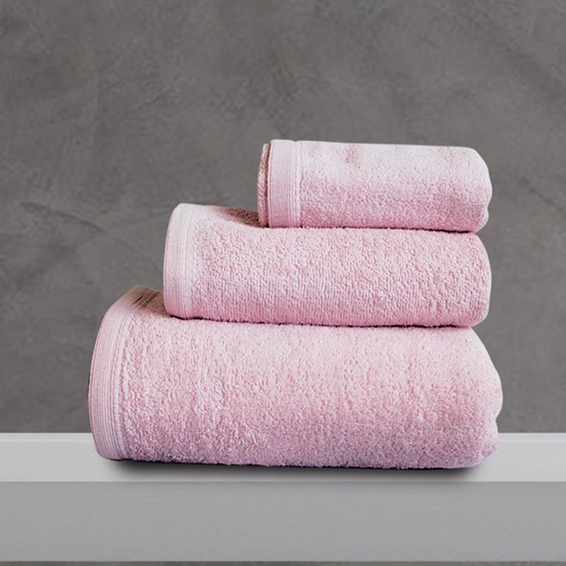 Πετσέτες Μπάνιου (Σετ 3 Τμχ) Sb Home Primus Pink Ροζ