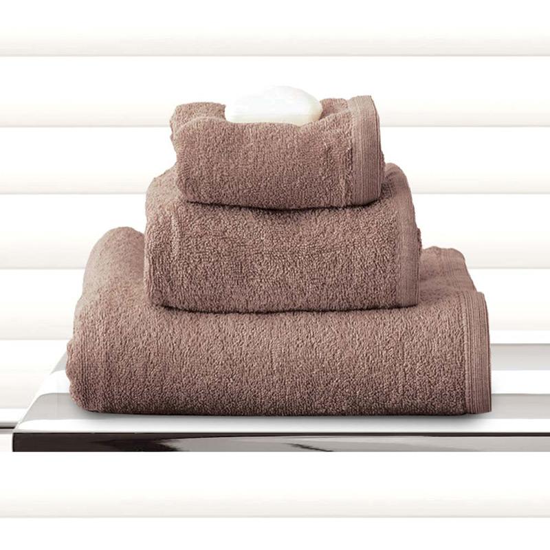 Πετσέτες Μπάνιου (Σετ 3 Τμχ) Sb Home Primus Taupe Σοκολα