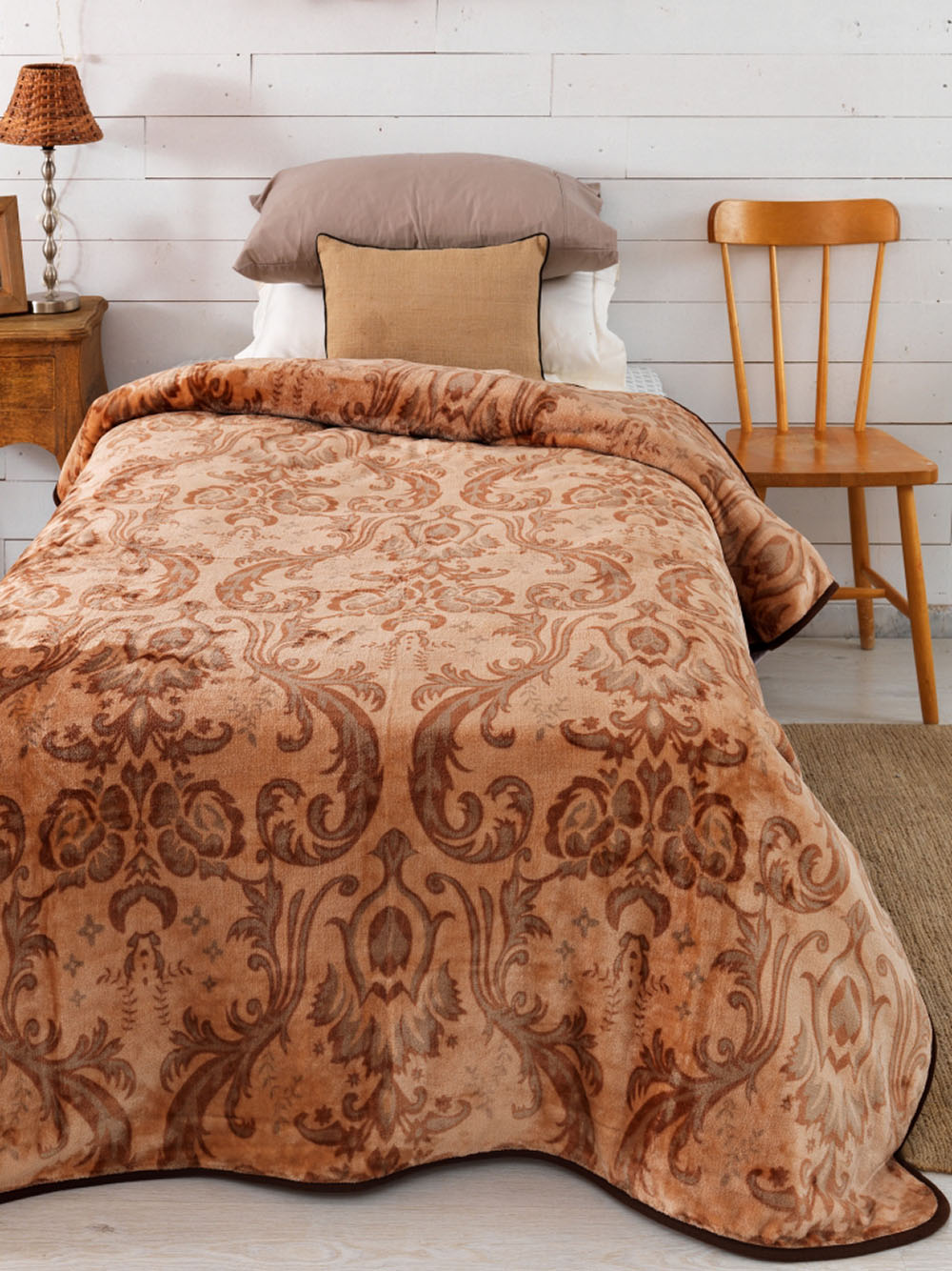 Κουβέρτα Fleece Μονή 160×240 SY-245 Palamaiki Silky Collection