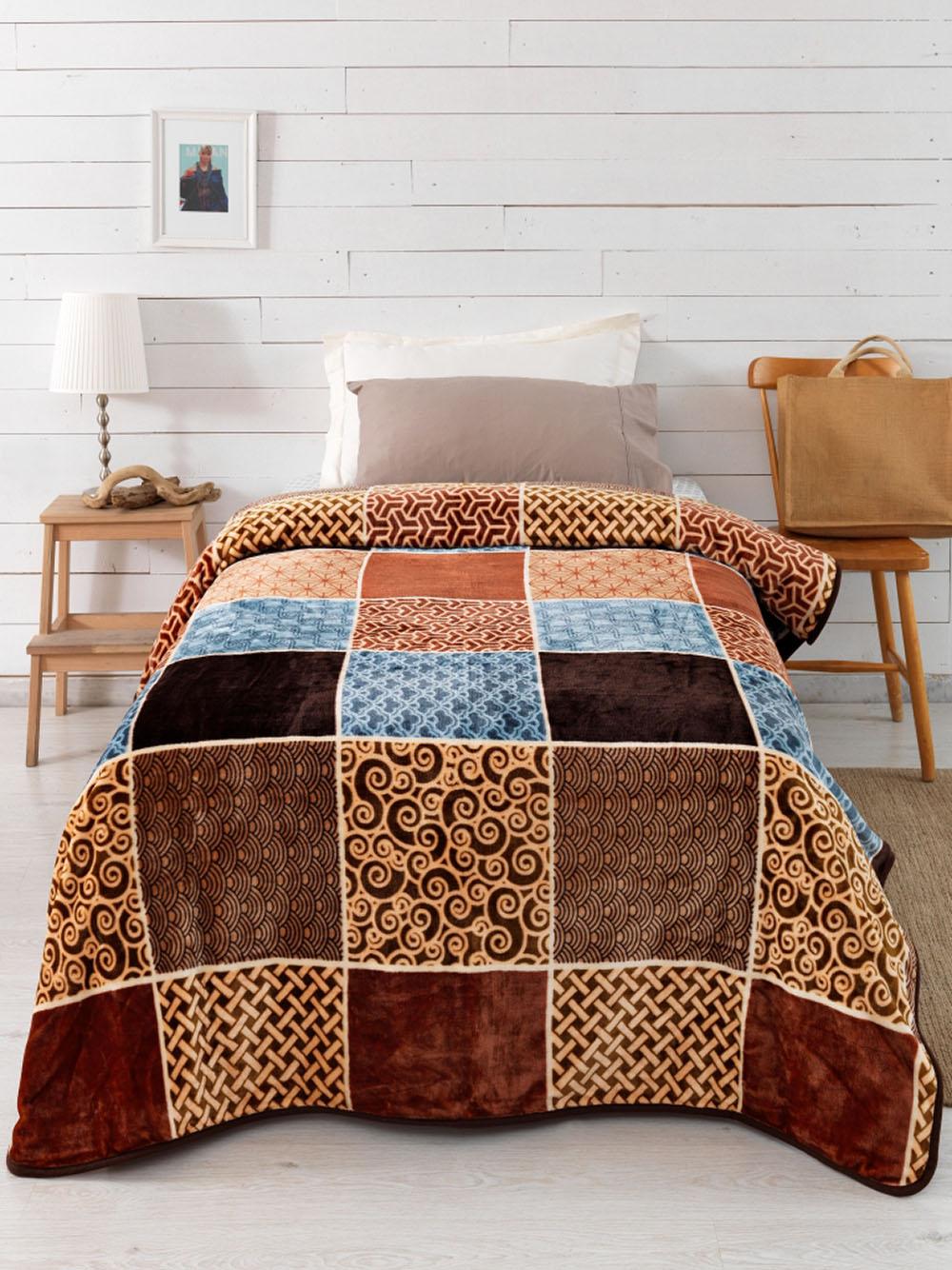 Κουβέρτα Fleece Μονή 160×240 SY-247 Palamaiki Silky Collection