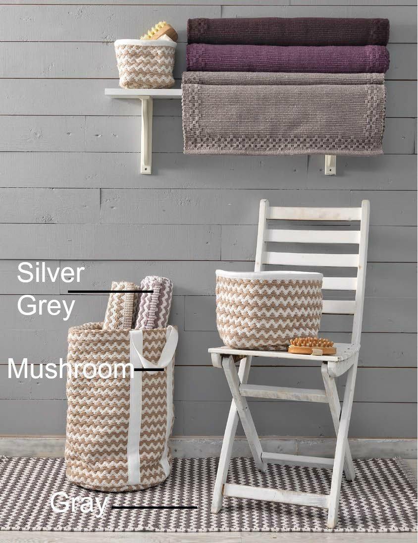 Ταπέτο Κουζίνας 60x130 Taylor Palamaiki Rugs collection Gray