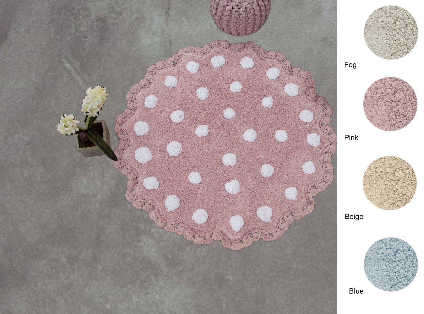 Πατάκι Μπάνιου Δ.80 Palamaiki Bathmat Collection Tazin Pink
