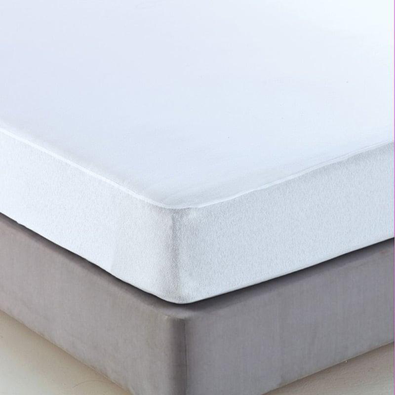 Αδιάβροχο Επιστρώμα Μονό 100×200 Sb Home Αδιαβροχο Λευκο