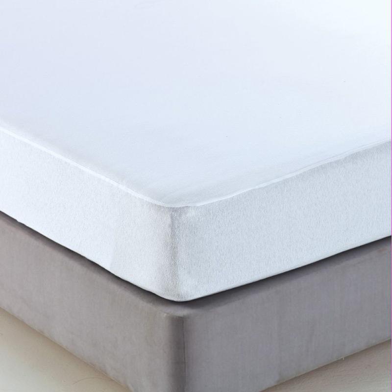 Αδιάβροχο Επιστρώμα Διπλό 120×200 Sb Home Αδιαβροχο Λευκο