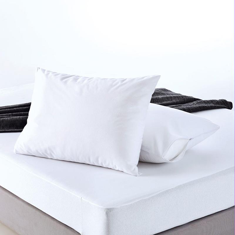 Αδιάβροχο Κάλυμμα Μαξιλαριών 50×70 Sb Home Αδιαβροχο Λευκο