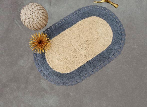 Πατάκι Μπάνιου 60×90 Palamaiki Bathmat Collection Zaraf Grey