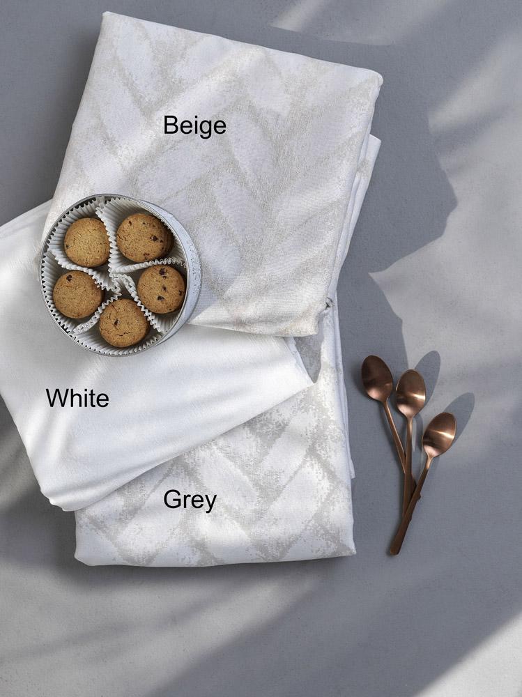 Τραπεζομάντηλο Αλέκιαστο 160×180 Palamaiki Formal Dinner Ios White