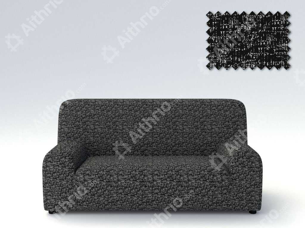 Ελαστικά καλύμματα καναπέ Malta-Μαύρο-Τετραθέσιος-5 Χρώματα Διαθέσιμα
