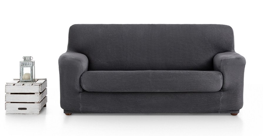 Ελαστικά καλύμματα καναπέ Ξεχωριστό Μαξιλάρι Bielastic Alaska-Πολυθρόνα-Γκρι-10+ Χρώματα Διαθέσιμα-Καλύμματα Σαλονιού