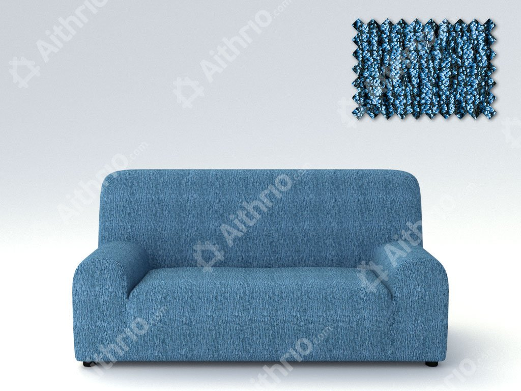 Ελαστικά Καλύμματα Καναπέ Nepal – C/4 Μπλε – Πολυθρόνα-10+ Χρώματα Διαθέσιμα-Καλύμματα Σαλονιού