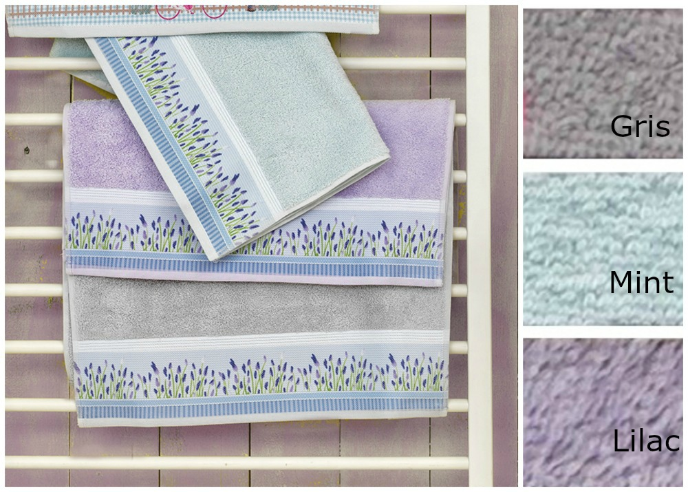 Πετσέτες (Σετ 3 Τμχ) P102 Palamaiki Premium Towels, Digital Mint