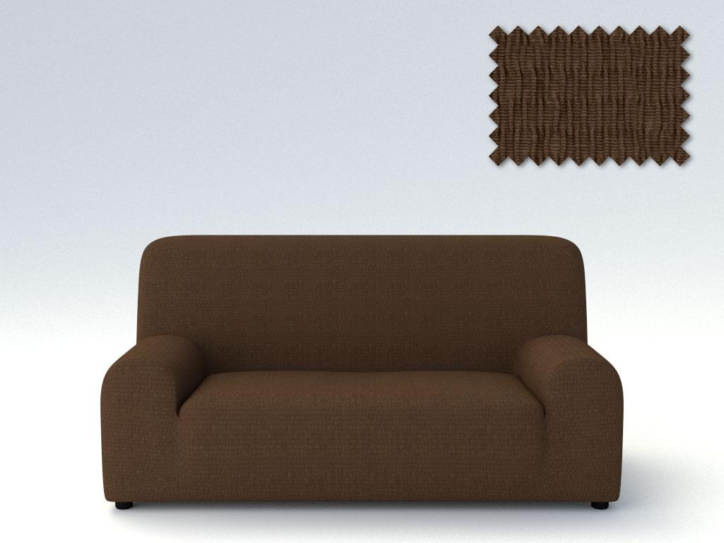 Ελαστικά καλύμματα καναπέ Peru-Τετραθέσιος-Καφέ-10+ Χρώματα Διαθέσιμα-Καλύμματα Σαλονιού