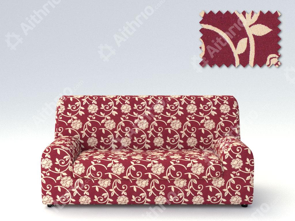Ελαστικά καλύμματα καναπέ Ξεχωριστό Μαξιλάρι Acapulco-Τριθέσιος-Μπορντώ-10+ Χρώμ καλύμματα επίπλων καλύμματα καναπέ σαλονιού   πολυθρόνας
