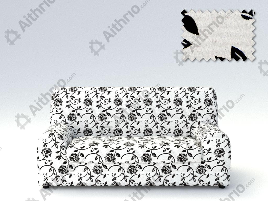 Ελαστικά καλύμματα καναπέ Ξεχωριστό Μαξιλάρι Acapulco-Τριθέσιος-Λευκό-10+ Χρώματ καλύμματα επίπλων καλύμματα καναπέ σαλονιού   πολυθρόνας